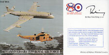 CC44 RAF Sea King & Nimrod cover signed Tom King MP