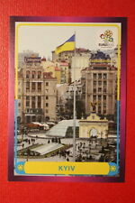 Panini EURO 2012 N. 24 KYIV  NEW With BLACK BACK TOPMINT!!