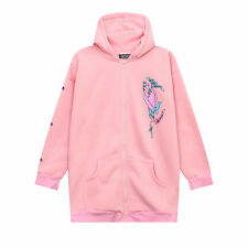 Harajuku Kawaii Cute Casual Long Sleeve Hoodie Sweatshirt Sweater Fleece Coat