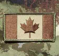 CANADA FLAG CANADIAN MAPLE LEAF MILITARY ARMY TACTICAL OPS MULTICAM VELCRO PATCH