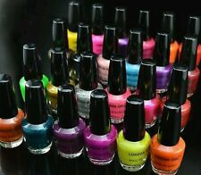 24x NEW LONDON GIRL NAIL POLISH WITH COLORS WHOLESALE JOB LOT WITH DISPLAY BOX