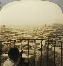 Keystone Stereoview view overlooking Puebla, Mexico From RARE 1200 Card Set # 94