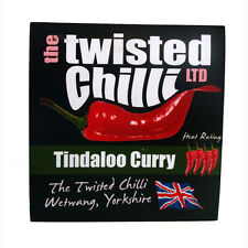 Curry IN POLVERE-tindaloo Curry-TWISTED Chilli-Livello di Calore 8/10