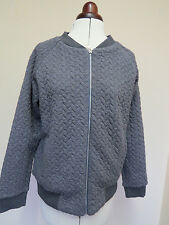 Boden Quilted Bomber Jackets - Size 12 -  Grey or Pink - *JUST ONE OF EACH LEFT*
