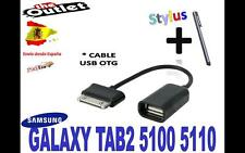 Usb Connection Kit OTG Host Cable Para Samsung Galaxy Tab 2 10.1 P5100 P5110 ES