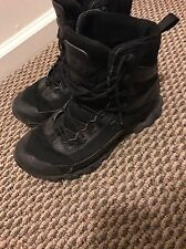 "Mens Under Armour Valsetz 2.0 RTS Tactical 6"" Boots Black Size 8 Check Pics"