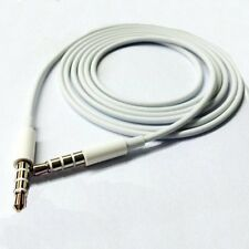For iPhone 4 5s 6 3.5mm Male Jack Stereo Aux Audio Adapter Cable Cord Lead Wire