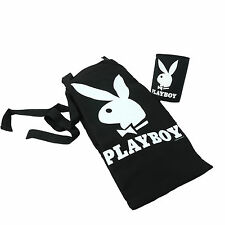 Playboy Bunny STUBBY HOLDER & APRON Can Cooler Costume Magazine BBQ Bar