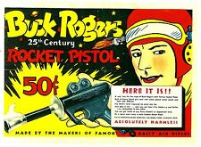 Daisy Buck Rogers in the 25th Century XZ-31 Rocket Pistol 1934 Ad Reprint