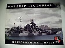 Warship Pictorial - Kriegsmarine Tierpitz No.26 Sammelband T O P !!!!