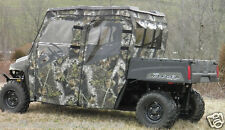 DOORS + REAR WINDOW Enclosure for Existing Windshield & Top~ Polaris Ranger CREW