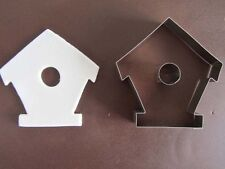 Bird House Front Sugarcraft Cutter - Bien Collection - Gingerbread
