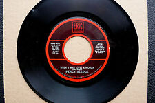 "7"" Percy Sledge - When A Man Loves A Woman / Jesse Belvin - Goodnight - US Eric"