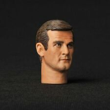 "12"" Figure HEADPLay Toy 007 James Bond Sir Roger George Moore Man 1/6 Model Head"