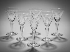 Set of Six Vintage Waterford Lead Crystal Sheila Pattern Liqueur Glasses