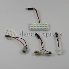 Panel 18 LED SMD C5W Festoon T10 W5W BA9S Maletero Interior.. Blanco Xenon placa