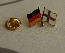 Freundschaftspin Deutschland Färöer Inseln Pin Anstecker Pins