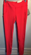 Women's Gap Fit Coral Compression Work Out Leggings Small NWT