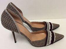 Casadei High Heels Stiletto Wool Pumps Size 10 B