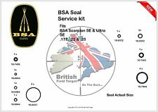 BSA Scorpion SE & Ultra SE Full Service Seal Kit 0.177, 0.22 & 0.25 New
