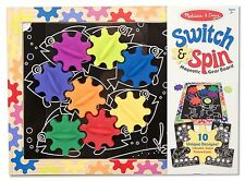 Melissa and Doug Switch and Spin Magnetic Gear Board - Age 2+