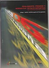 CYCLISME. TOUR D'ESPAGNE 2006.GUIDE REGLEMENTS EN FRANCAIS ET EN ESPAGNOL.