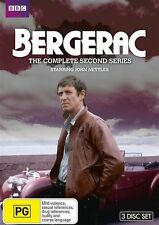 DVD BERGERAC THE COMPLETE SECOND SERIES BRAND NEW SEALED R4 FREE FAST POSTAGE