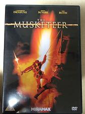 Catherine Deneuve Tim Roth MOUSQUETAIRE ~ 2001 Aventure romantique épique GB DVD