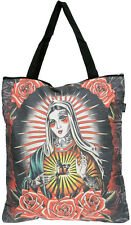 Liquor Brand FAITH Sacred Heart MARIA Shopping Bag TASCHE Rockabilly