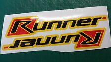 Gilera Runner side panel Stickers FX, FXR, SP, VX, VXR, pogialli malossi YELLOW