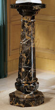 Luxury Luxurious Solid Marble Column Pedestal for home display of bust or plants