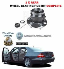 FOR LEXUS LS430 3UZ-FE 2000-2006 NEW 1 X REAR WHEEL BEARING HUB KIT WITH NUTS