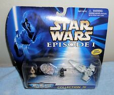 Star Wars - Galoob Micro Machines Action Figure Episode I, Collection IV (NIP)