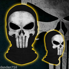 The Punisher Mask Cosplay Costume Balaclava Paintball Airsoft Full Face Mask
