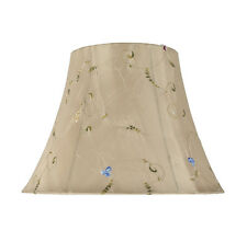 "Aspen Creative 30017 Bell Spider Lamp Shade Gold 7""x13""x9 1/2"""