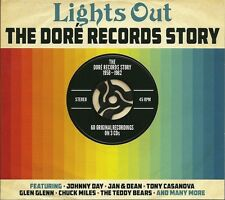 LIGHTS OUT THE DORE RECORDS STORY 1958 - 1962 - 3 CD BOX SET