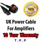 UK Mains Power Lead Cable Cord For PRS , Palmer , Line 6 Guitar AMP Amplifier