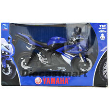 NEWRAY 1:12 2008 YAMAHA R1 DIECAST MODEL MOTORCYCLE BLUE