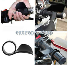 Black ABS Plastic Motorcycle Throttle Assist Cruise Control Grips Wrist Rest EPS