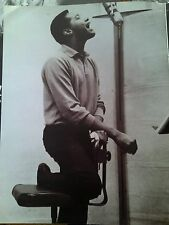 """Sam Cooke Recording Studio 1962 12x9"""" Page From Music Book Ideal to Frame?"""
