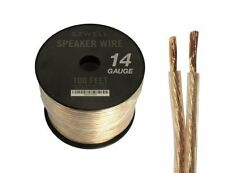 Sewell 14-Gauge Speaker Wire 100 Ft Sound & Vision 14 Awg Twist Type: Multi-Twi