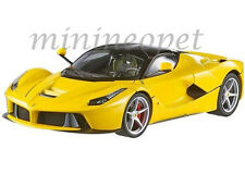 HOT WHEELS BCT81 ELITE FERRARI LaFerrari F70 HYBRID NEW ENZO 1/18 DIECAST YELLOW