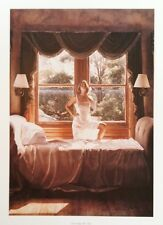 "Steve Hanks ""Savoring the Sun"" Hand Signed & Numbered COA 171/1250"