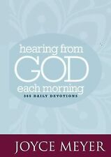 Hearing from God Each Morning : 365 Daily Devotions by Joyce Meyer (2010,...
