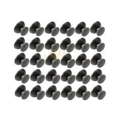 50X Controller Thumb Stick Joystick Cap with Foraminule for PS2 PS3 Small Holes