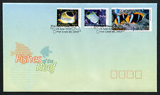 2010 Fishes of the Reef High Values FDC First Day Cover Stamps Australia