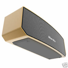 Bluedio BS-3 Bluetooth 4.1 Wireless Stereo 3D Sound Subwoofer Mini Speaker, Gold