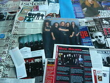 PARADISE LOST - MAGAZINE POSTER/CUTTINGS COLLECTION (REF X12)