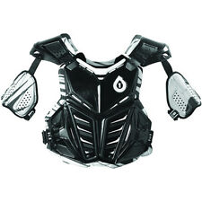 SIXSIXONE SIX SIX ONE chest protector blk  MTB BMX ATV MX off road adult Large