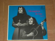 SOEUR WILFRID-MARIE ET JEAN-LOUIS messageres de joie LP french catholic xian